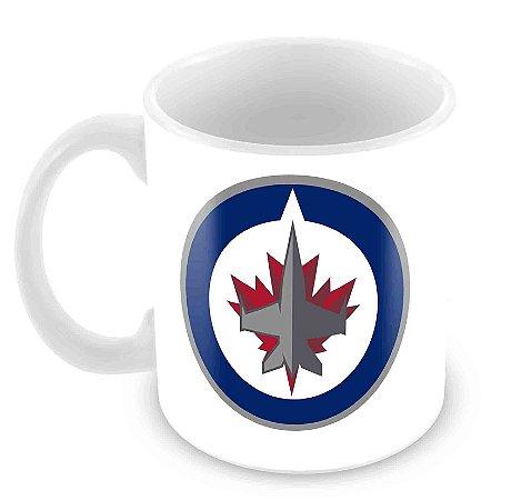 Caneca Branca - NHL - Jets