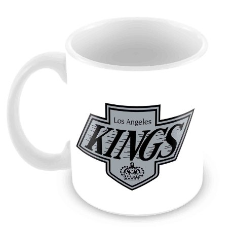 Caneca Branca - NHL - Kings