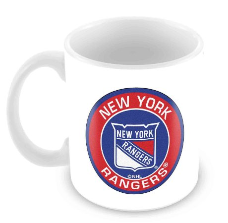 Caneca Branca - NHL - Rangers