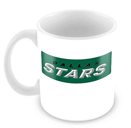 Caneca Branca - NHL - Stars