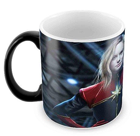 Caneca Mágica - Capitã Marvel - Filme
