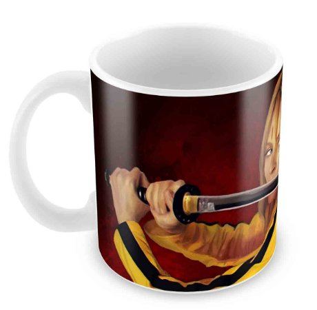 Caneca Branca - Kill Bill 1
