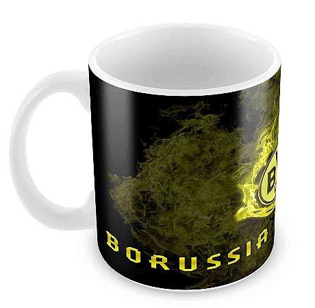 Caneca Branca - Futebol - Borussia Dortmund