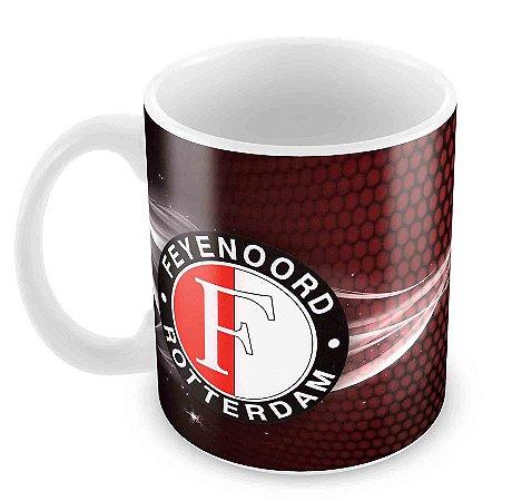 Caneca Branca - Futebol - Feyenoord 2