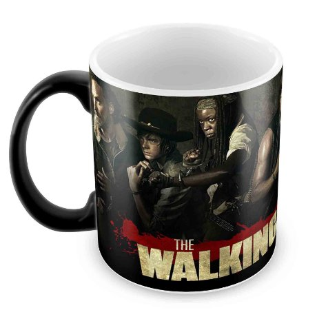 Caneca Mágica - The Walking Dead - Elenco