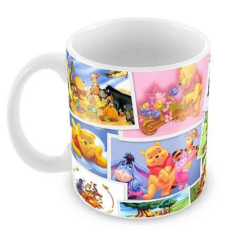 Caneca Branca - Pooh