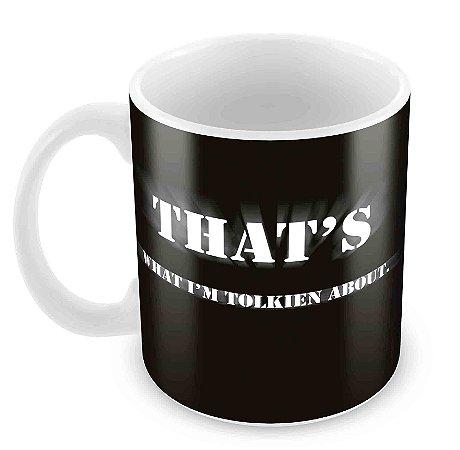 Caneca Branca - Tolkien