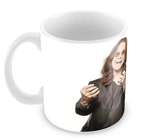 Caneca Branca - Ozzy Osbourne