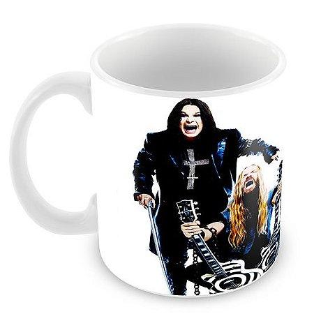 Caneca Branca - Ozzy Osbourne - 03