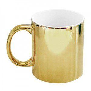 Caneca Dourada Personalizada