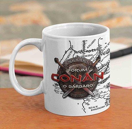 Caneca Branca - Especial Fórum Conan