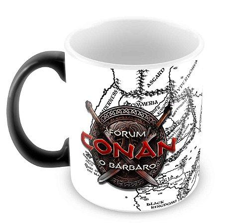 Caneca Mágica Preta - Especial Fórum Conan
