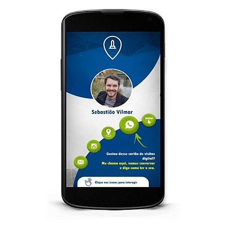 Cartão de Visita Digital Empresa | Cartão Virtual Interativo