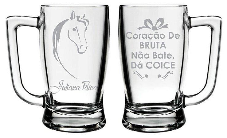 c47ba4c750 Caneca De Chopp Cerveja Jateada Personalizada - Frente e Verso ...