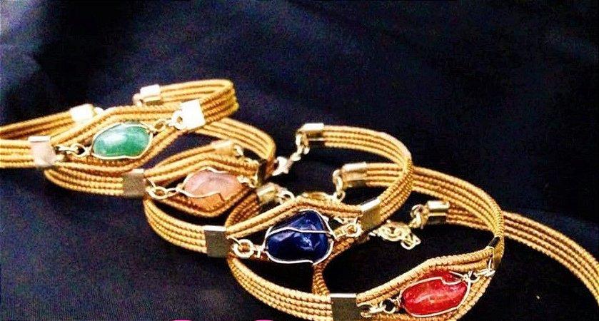 Bracelete BC5 Capim Dourado