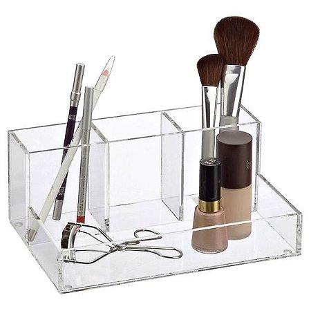 Organizador de Acrilico para  para maquiagem