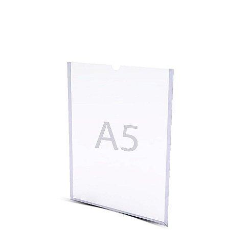 Display A5 Parede Acrílico A 21cm x L 15cm Dupla Face