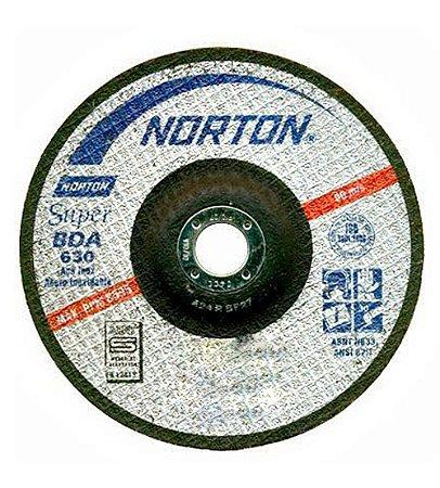 DISCO DE DESBASTE  BDA630   ALUNDUM SUPER INOX NORTON