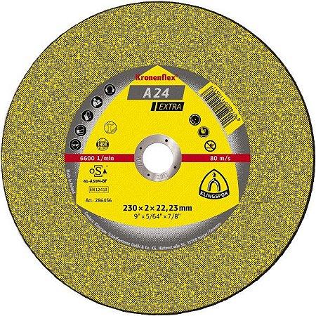 """DISCO DE CORTE 7""""X3MM A24 EXTRA - KLINGSPOR"""