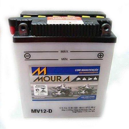 Bateria Moura Mv12-d Moto Bmw G650gs - Yb12al-a