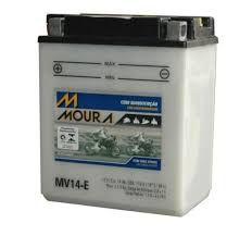 Bateria Moura Moto Honda Cbx 750 Sete Galo Mv14-e  Yb14-a2