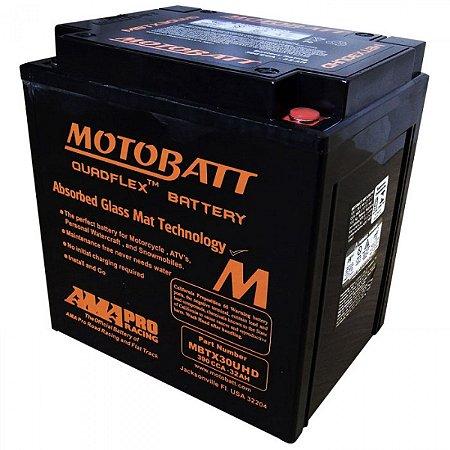Bateria Motocicleta Harley Davidson Road King Motobatt Mbtx30u Gel - Referencia Yuasa Yix30l-bs