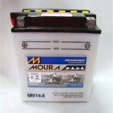Bateria Moura Moto Kawasaki Vulcan 750 Mv14-e  Yb14-a2