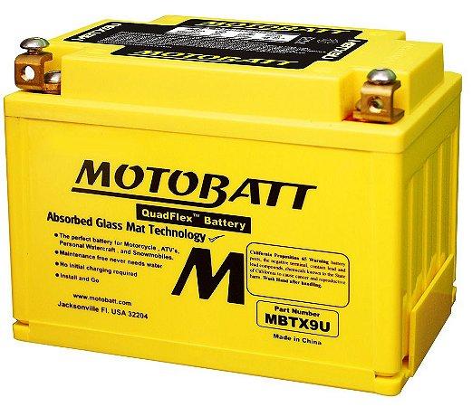 Bateria Motobatt Mbtx9u Motocicleta Big Trail Honda Nc 700x / Transalp Xl-700