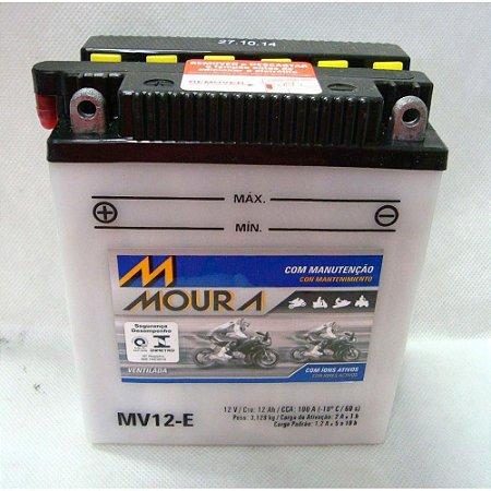 Bateria Moto Honda Cb400 Cbr450 Cb500four Moura Mv12-e