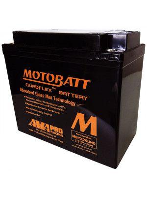 Bateria Moto Custom Harley Davidson Fat Boy Motobatt Mbtx20-u