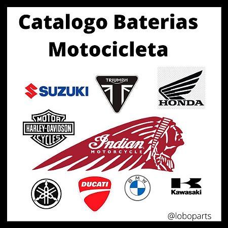 Catalogo Baterias Motocicleta