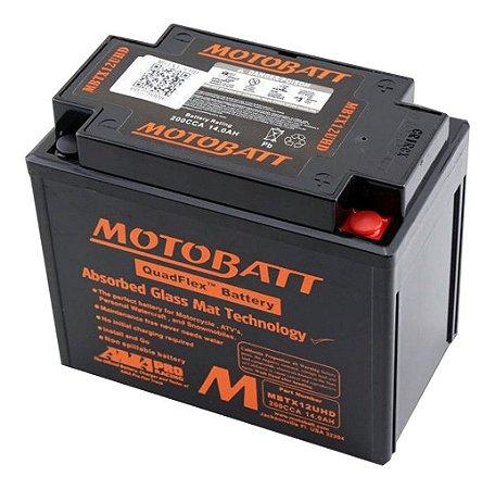 Bateria Gel Motobatt Mbtx12u 14,0ah Harley Davidson Sportster Xlh 883/1200