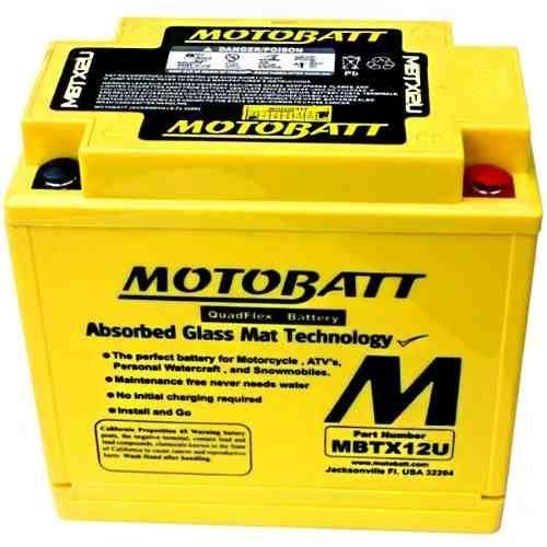 Bateria Gel Motobatt Mb12u Motocicleta Honda Cb-400 Big Trail Bmw Gs 650