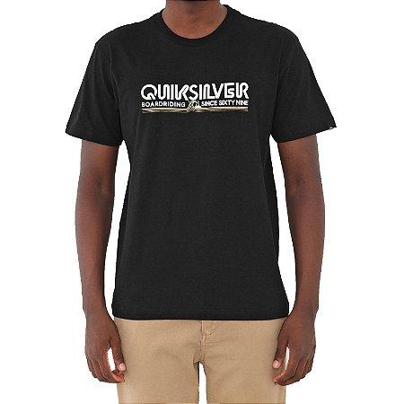 Camiseta Quiksilver Like Gold Masculina Preto