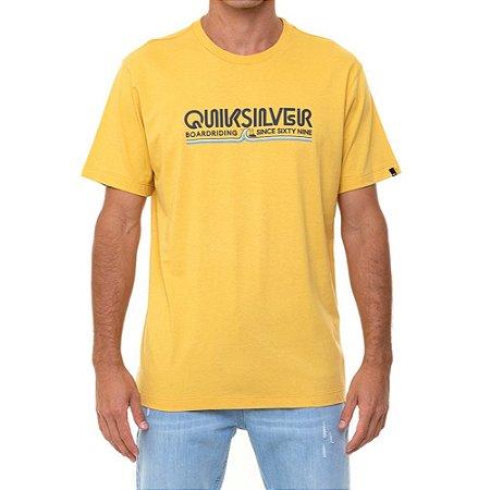 Camiseta Quiksilver Like Gold Masculina Caqui