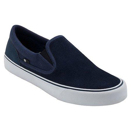 Tênis DC Shoes Trase Slip On Masculino Azul Marinho