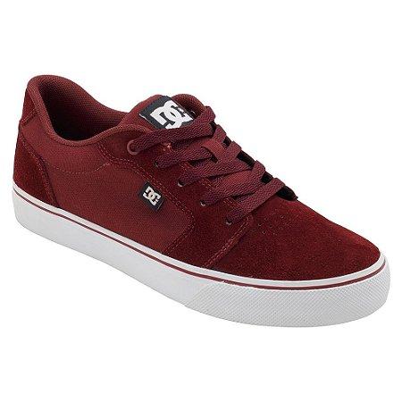Tênis DC Shoes Anvil LA Vinho