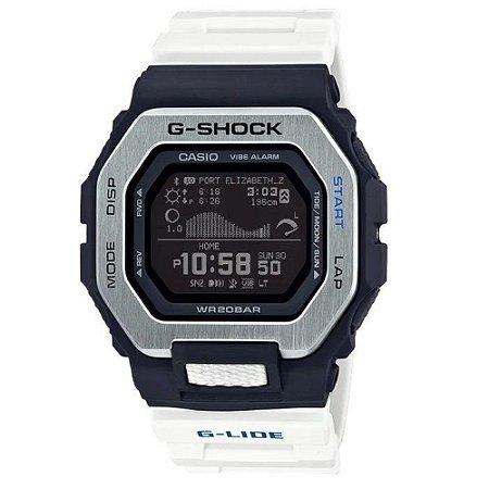Relógio G-Shock GBX-100-7DR Masculino Branco