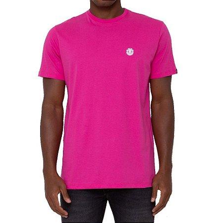 Camiseta Element Logo Chest Masculina Rosa