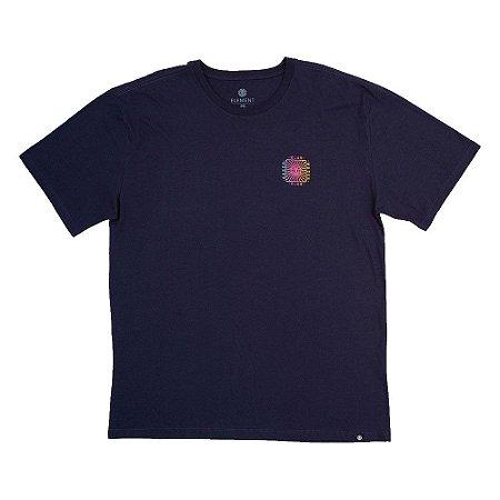 Camiseta Element Cahaba Plus Size Masculina Azul Marinho