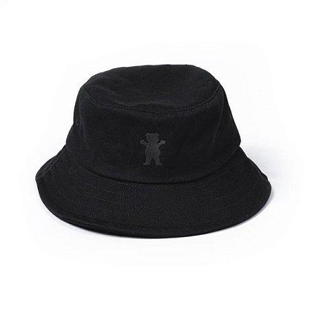 Chapéu Grizzly OG Bear Velvet Hat Preto