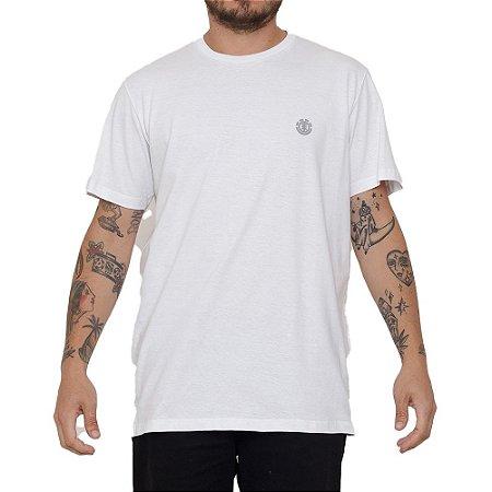 Camiseta Element Basic Crew Masculina Branco