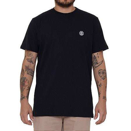 Camiseta Element Basic Crew Masculina Preto