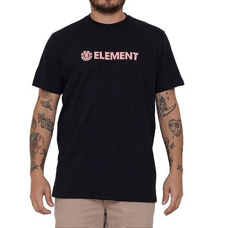 Camiseta Element Blazin Masculina Preto