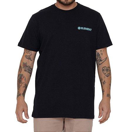 Camiseta Element Blazin Chest Masculina Preto