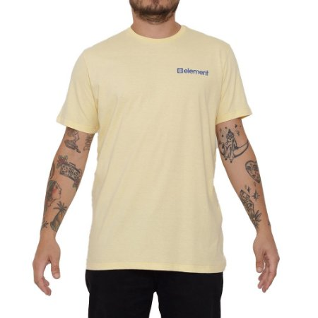 Camiseta Element Joint Masculina Amarelo