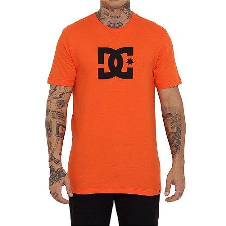 Camiseta DC Shoes DC Star Color Masculina Laranja