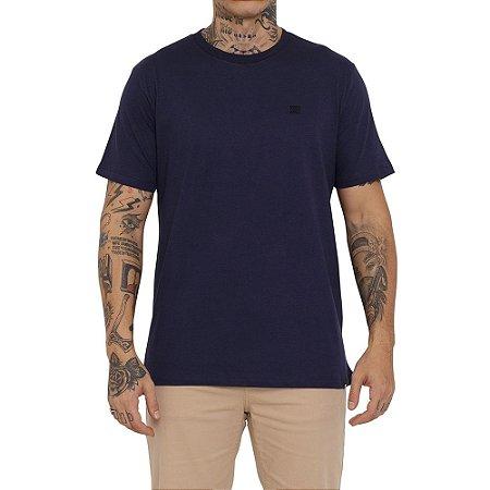 Camiseta DC Shoes Embroidery Star Masculina Azul Marinho
