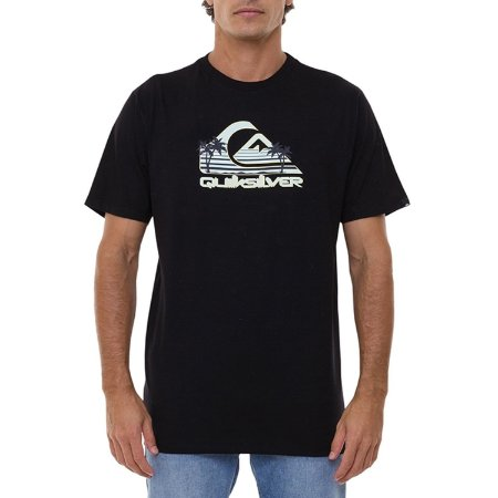 Camiseta Quiksilver Summer Dayz Masculina Preto