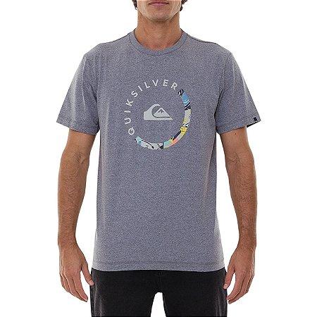 Camiseta Quiksilver Slabed Masculina Cinza